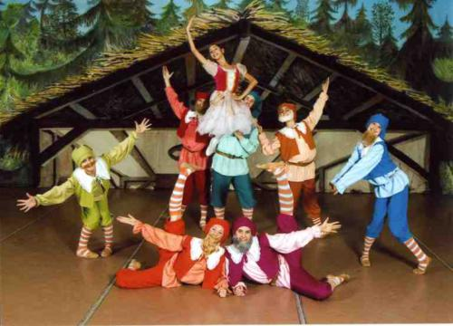"Ballet ""Belosnegka and the seven dwarfs"""